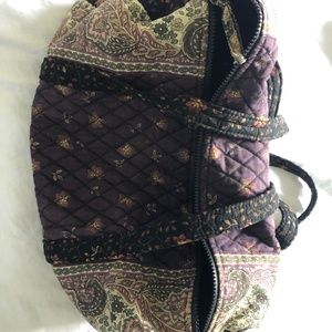 Vera Bradely Duffel with Matching Wallet